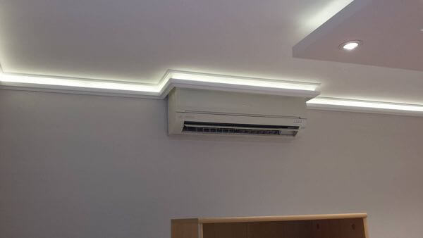 minőségi lakásfelújítás, led világítás